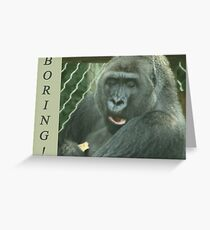 Boring Greeting Card