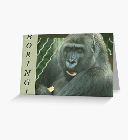 Boring Greeting Card