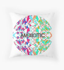 AMNIOTIC Illustration Hipster Ball Drugs Drug MD Throw Pillow