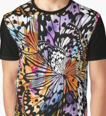 orange butterfly abstract Graphic T-Shirt
