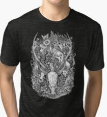Life's Mystery: Hunter and Prey Tri-blend T-Shirt