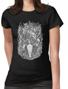 Life's Mystery: Hunter and Prey Womens Fitted T-Shirt