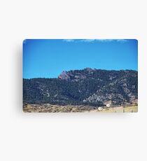Colorado Mountain Range Canvas Print
