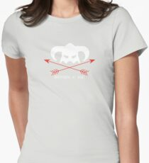 Adventurers at heart Womens Fitted T-Shirt