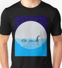 Loch Ness Monster Silhouette  T-Shirt
