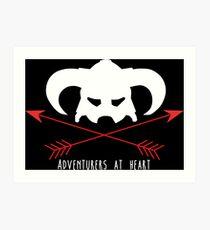 Adventurers at heart Art Print