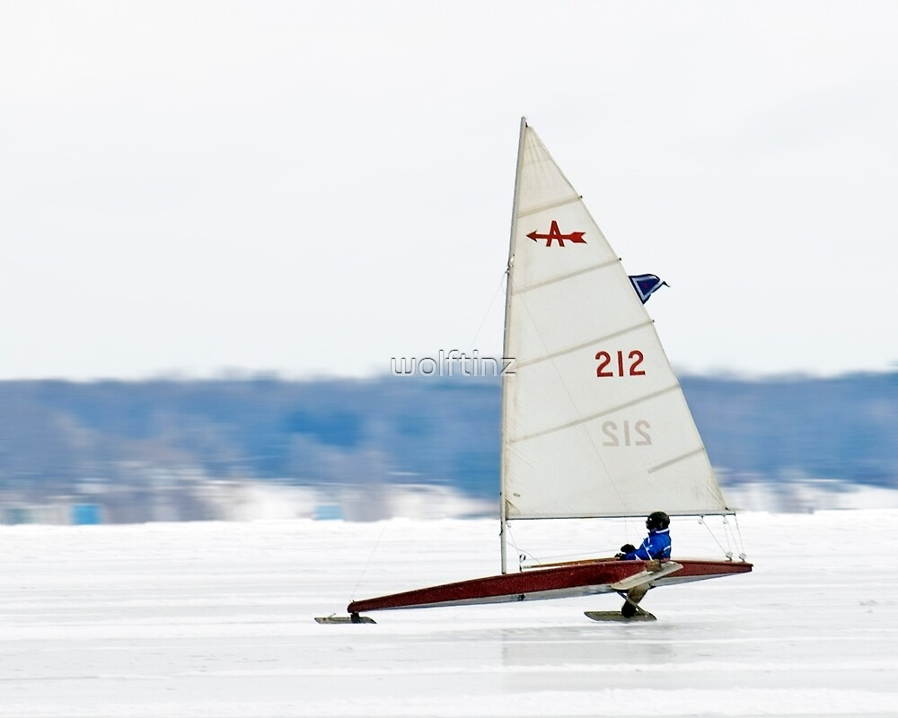 Sailing on Hard Water by wolftinz