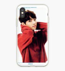 JK in Red iPhone Case