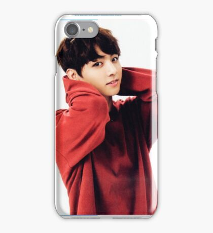 JK in Red iPhone Case/Skin