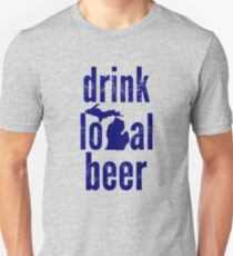 Drink Local Beer (MI) T-Shirt