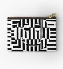 Smiley Face Illustion Maze Studio Pouch