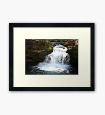 Whitehorse Falls Framed Print