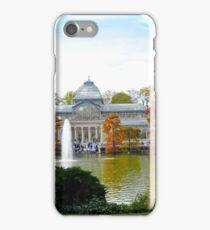 Palacio de cristal y cipreces de pantano. iPhone Case/Skin