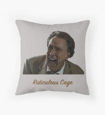 Ridiculous Cage Throw Pillow