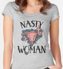 Nasty Woman Women's Fitted Scoop T-Shirt
