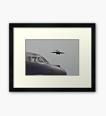 C 17 and the Strato Framed Print