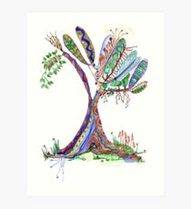 Tree of Life 4 Art Print