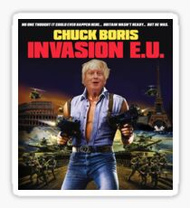 Boris Johnson - Chuck Boris T-Shirt Sticker