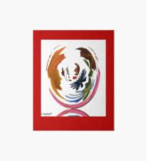 Whirlwind & Flowers - QUADRILLE Art Board