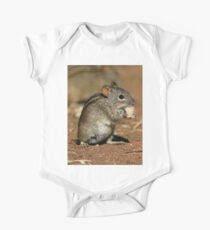 Striped Grass Mouse One Piece - Short Sleeve