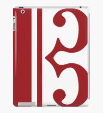 Red Clef iPad Case/Skin
