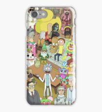 Rick and Morty Total Rickall iPhone Case/Skin