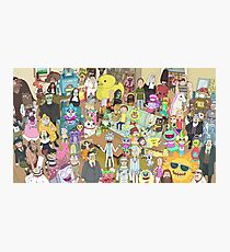 Rick and Morty Total Rickall Photographic Print