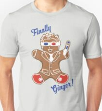 The 10th Doctor is Finally Ginger! T-Shirt