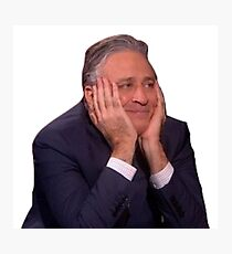 Jon Stewart - The Daily Show Photographic Print