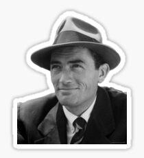 Gregory Peck - Vintage Photo Sticker