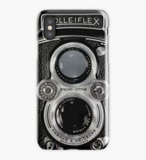 Vintage Rolleiflex Automat MX-EVS Model K4B Twin Lens Film Camera iPhone Case/Skin