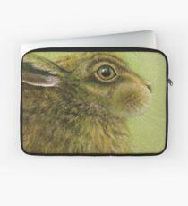 Portrait of a Rabbit Laptop Sleeve