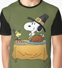 Snoopy Thanksgiving Graphic T-Shirt