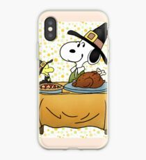 Snoopy Thanksgiving iPhone Case