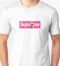 Sakura Naruto x Supreme Parody Collab Small Box Logo Pink Unisex T-Shirt
