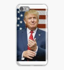 donald trump american flag iPhone Case/Skin