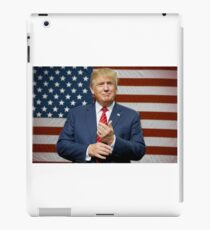 donald trump american flag iPad Case/Skin