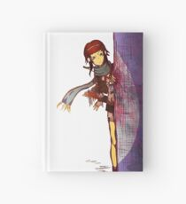 Tama, Peaking into a Stone Domicile (Double Sided Hardcover Journal) Hardcover Journal