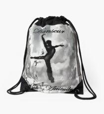 Danseur - With Attitude Smokey Drawstring Bag