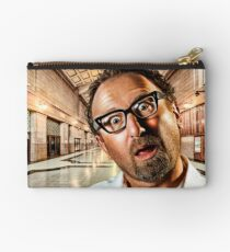 Adelaide Train Station. ALL ARE BORED! Studio Pouch
