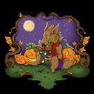 Werewolf Halloween  by aunumwolf42