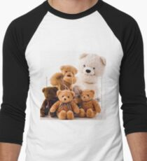 Teddy Bears Men's Baseball ¾ T-Shirt