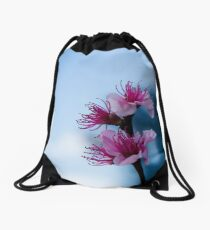 Cool Blossom Drawstring Bag