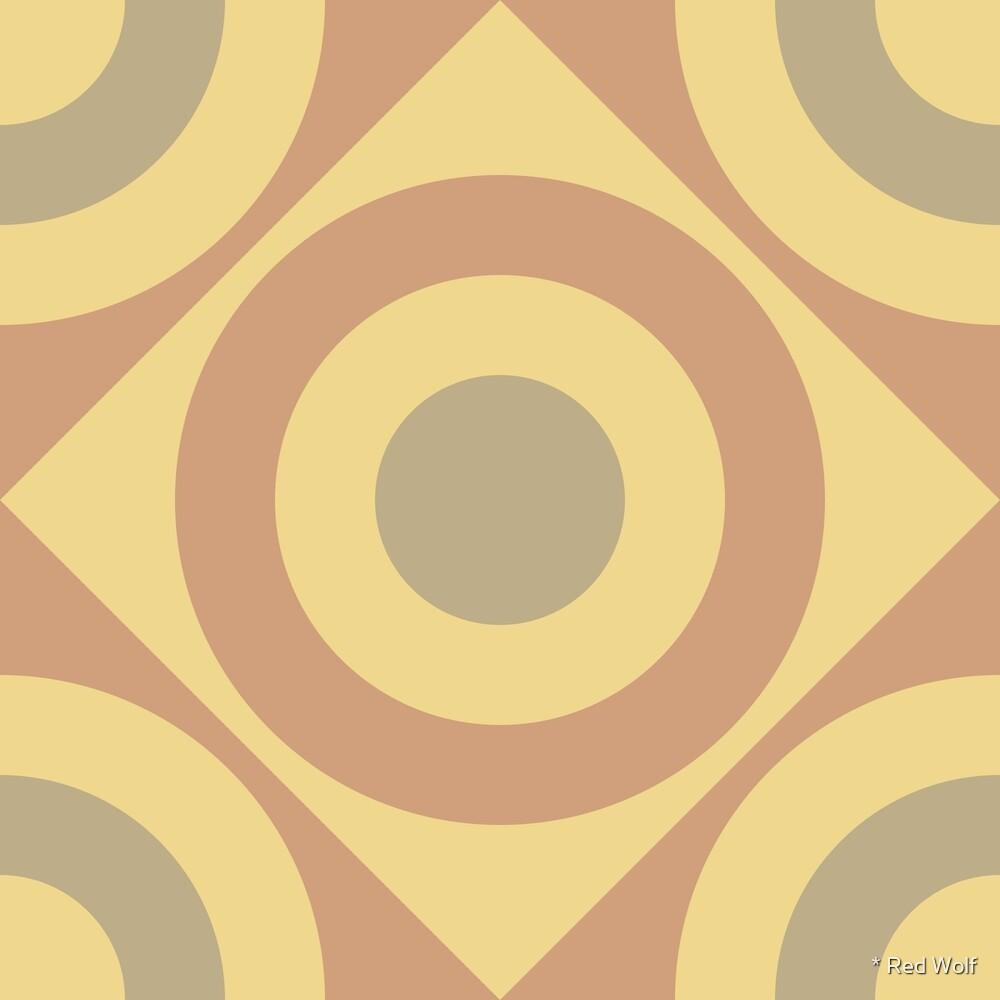 Geometric Pattern: Rondel Diamond: Oxide by * Red Wolf