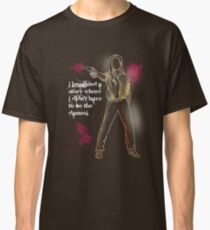 """""""Not a Damsel"""" Dolores of the West Classic T-Shirt"""