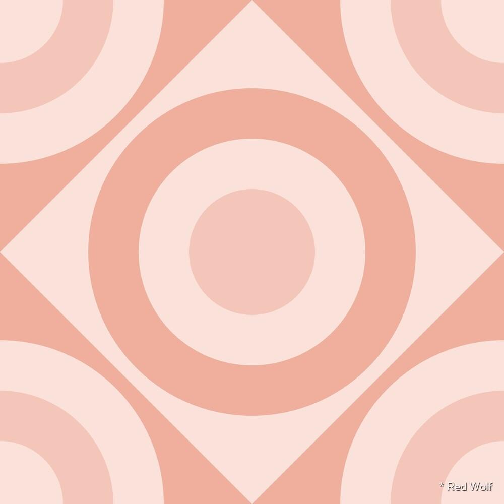 Geometric Pattern: Rondel Diamond: Wanderlust by * Red Wolf