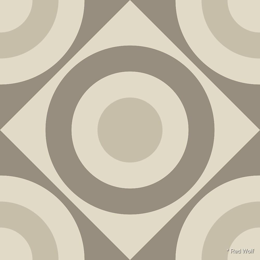 Geometric Pattern: Rondel Diamond: Sherwin by * Red Wolf