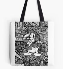 Donald Duck Fanart Zendoodle Tote Bag