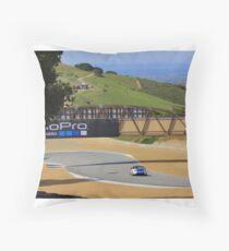 MX5 Laguna Seca Throw Pillow