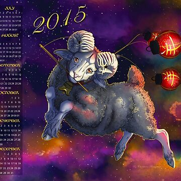 Year of the Ram 2015 by aunumwolf42